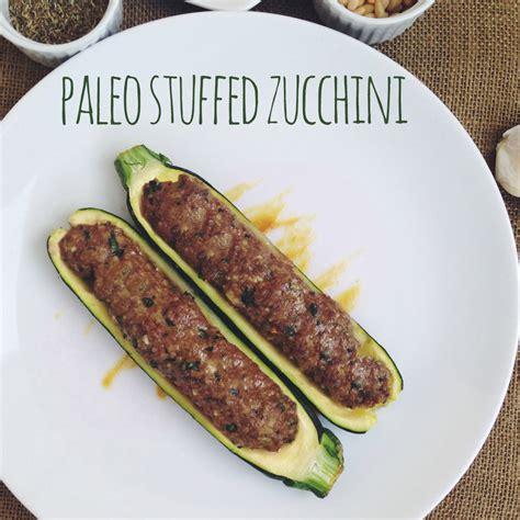 Zucchini Boats Paleo by Stuffed Zucchini Paleo