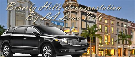 Beverly Service by Beverly Limo Service By Lalimoride Beverly