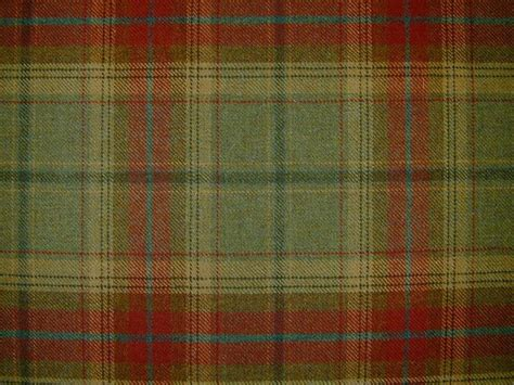 plaid drapery fabric curtain fabric wool tartan green check plaid tweed