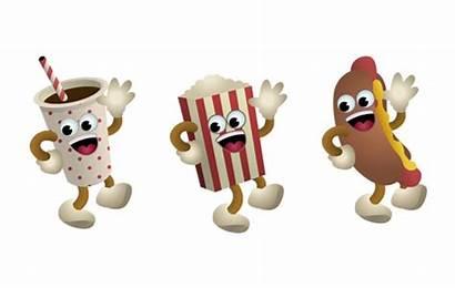 Lobby Let Clipart Popcorn Vector Cartoon Lets