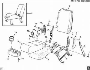 Chevrolet Silverado Latch  Hinge  Armrest  Seat Adjuster