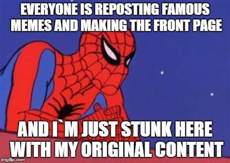 Spiderman Meme Creator - spider man base imgflip