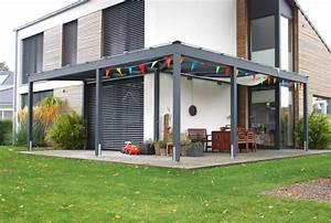Anbauwand über Eck : terrassen berdachung ber eck so muss das ~ Markanthonyermac.com Haus und Dekorationen