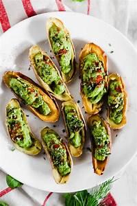 vegan day appetizers avocado deviled potatoes