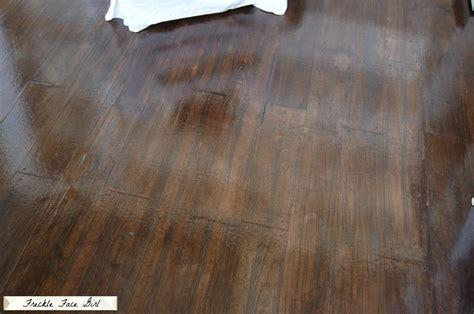imitation wood flooring remodelaholic faux wood plank floors using brown paper