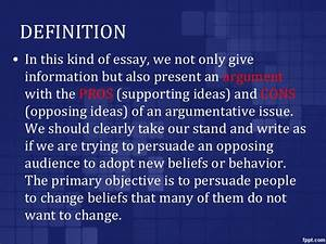 Persuasive essay definition essay writing sentence starters ...