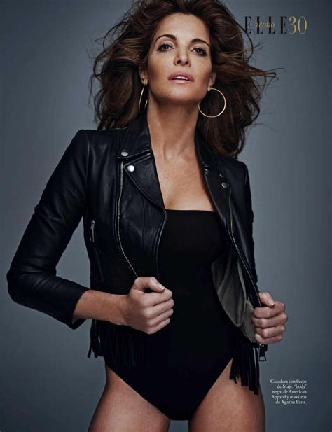 Stephanie Seymour Elle Magazine Espana October Issue