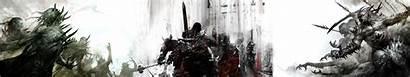 Triple Monitor Wars Wallpapers Screen Guild Undead