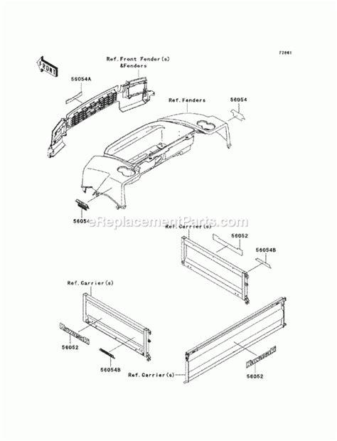 Kawasaki Parts Diagrams by Kawasaki Mule 550 Parts Diagram Automotive Parts Diagram