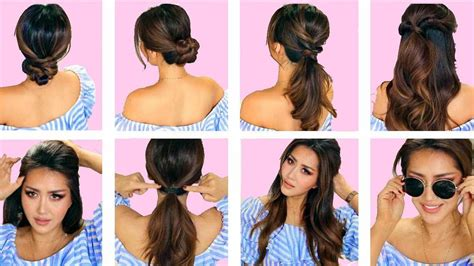 top 5 lazy everyday hairstyles with puff quick easy