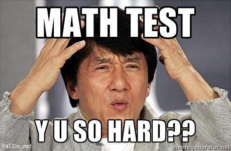 Jackie Chan Meme Creator - math test y u so hard confused jackie chan meme generator math for ged college