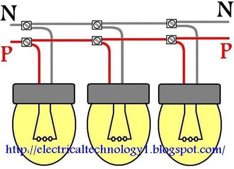 How Wire Lights Parallel Electrical Technology