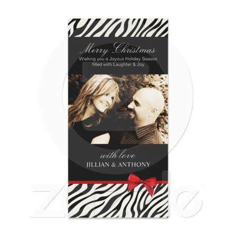 sassy zebra christmas card christmas decor pinterest
