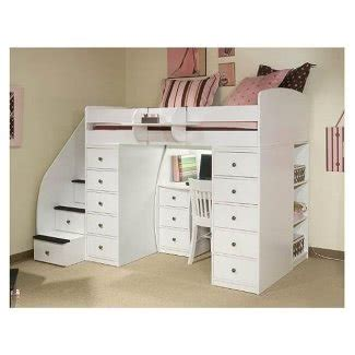 full size loft bed  desk
