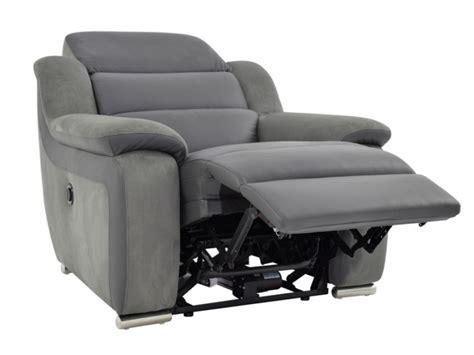 canapé relaxation cuir electrique fauteuil relax électrique en cuir et microfibre arena ii