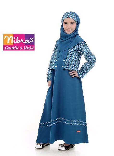 Harga Gamis Merk Nibras jual terbaru baju gamis untuk anak murah nibras nsa p45