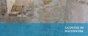 Salpeter In Der Wand : salpeter im mauerwerk ist ein warnsignal f r feuchte w nde ~ A.2002-acura-tl-radio.info Haus und Dekorationen