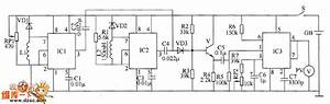 Metal Detector Circuit Diagram 4 - Basic Circuit