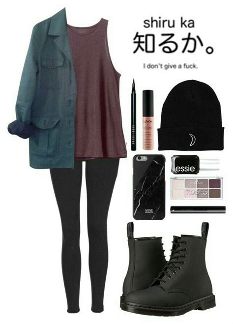 Outfit Grunge Winter
