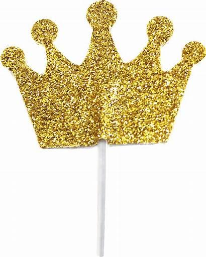 Transparent Princess Crown Glitter Crowns Clipart Goldene