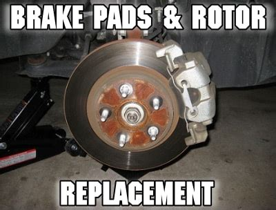 brake pads replacement cost guide  parts  labor