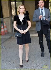 Jane Levy Brings Boyfriend Thomas McDonell To Miu Miu Show ...