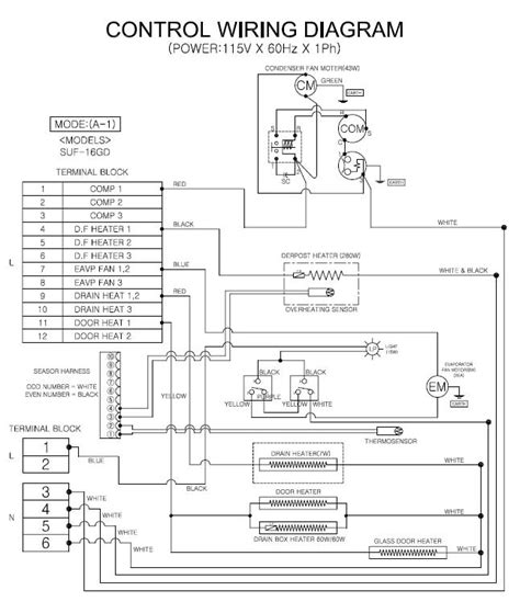 traulsen refrigerator wiring diagram get free image