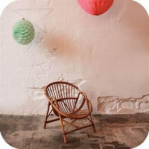 Petit Fauteuil Enfant : fauteuil rotin vintage enfant ann es 50 atelier du petit parc ~ Teatrodelosmanantiales.com Idées de Décoration