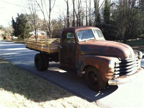purchase   chevrolet  dump truck chevy pick