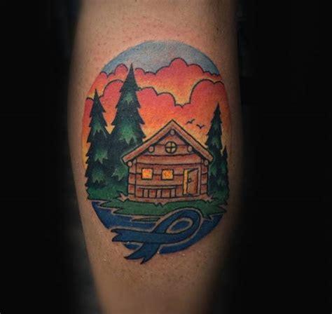 cancer ribbon tattoos  men supportive design ideas