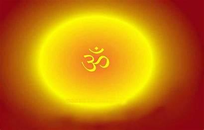 Om Yellow Aum Hindu Wallpapers Neon Indian