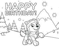 paw patrol rubble underwater  coloring page  coloring pages