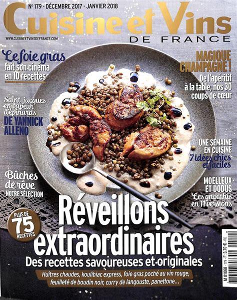 cuisine et vin abonnement cuisine et vins de abonnement magazine