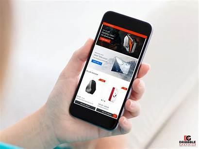 Mockup Smartphone App Using Psd Presentation Mobile