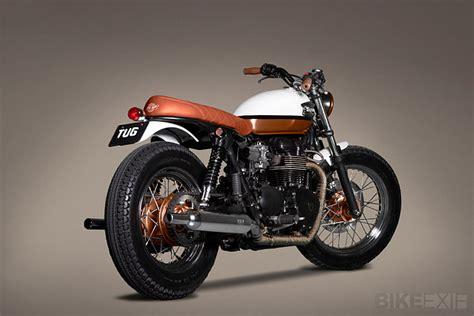 Triumph Bonneville T100 Modification by Motorcycle Modification Triumph Bonneville T100 Brat Style