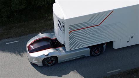 volvo s self driving truck concept vera