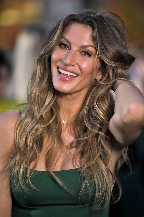 Gisele Bundchen Green Carpet Fashion Awards Italia
