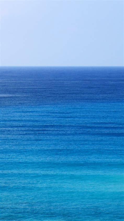 Aqua Blue Ocean 4K UHD Wallpaper