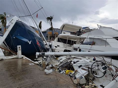Hurricane Irma Tortola Boats by Due West Adventures