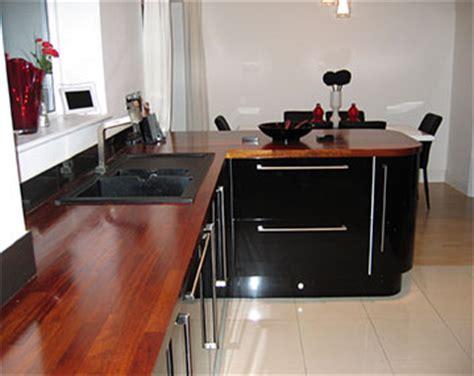 kitchens case study ultra modern gloss iroko
