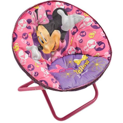 minnie mouse saucer chair your choice character saucer chair walmart