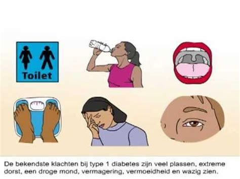 suikerziekte gevolgen