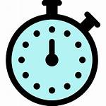 Stopwatch Icon Surf Stoppuhr Gratis Stil Andere
