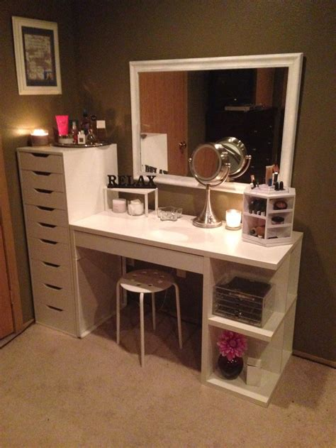 desk and vanity combo ideas 243 best images about diy vanity area on pinterest