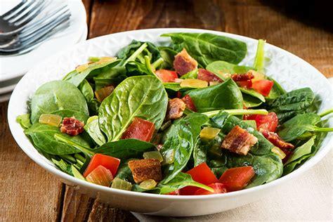 garden salad recipe garden salad with warm bacon vinaigrette kraft recipes