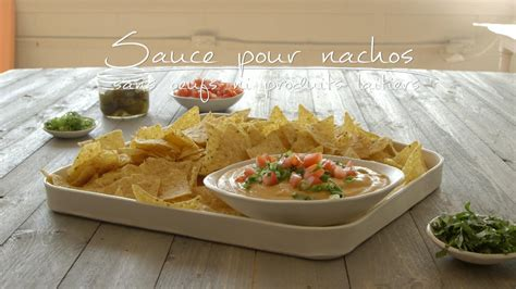 produits cuisine sauce pour nachos sans oeufs ni produits laitiers