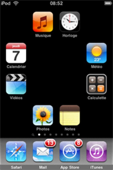comment mettre icone sur iphone