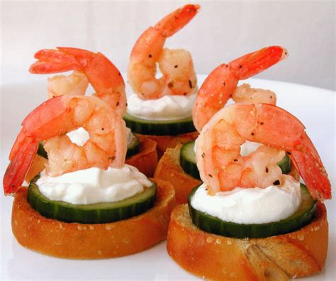 canapes recipes marinated shrimp canapes recipe food com