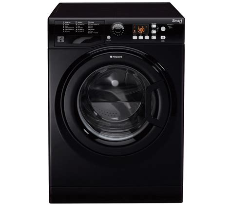 a washer and dryer in one buy hotpoint wmfug842k smart washing machine black