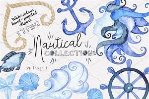 Nautical Sea Wa... Creative Market